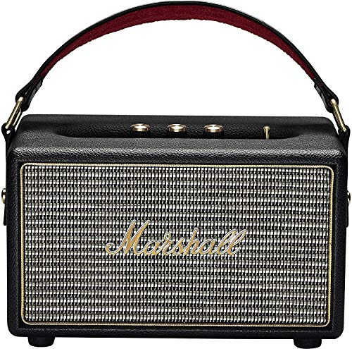Buy Marshall Kilburn 4091189 Portable Speakers Wired and Wireless Bluetooth Speaker (Black) online in India at discounted price