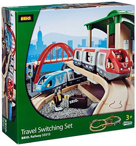 BRIO BRI-33512 Rail Travel Switching Set by Brio