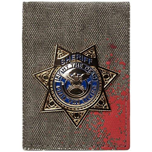 AMC Walking Dead Rick Grimes Grau Portemonnaie Geldbörse