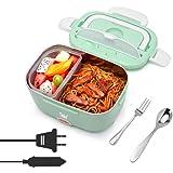 Timker Gamelle Chauffante 12v 24v 220v Lunch Box Chauffante Electrique 3 in 1 Boite Repas Chauffante pour Accueil…