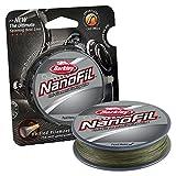 Berkley Nanofil Uni-Filament .004-inch Durchmesser Angeln Line, Unisex, Low Vis Green