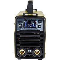 Aktionsset WELDINGER EW 201 dig pro digitaler Elektrodenschweißinverter Lift-WIG (Helm AH 300 + Elektroden + Hammer…
