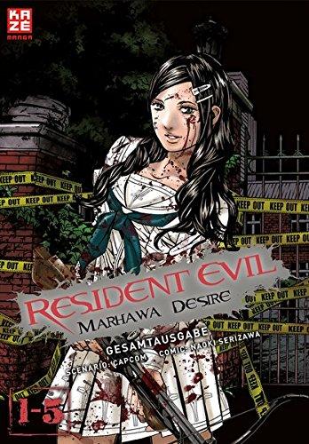 Resident Evil – Marhawa Desire Gesamtausgabe: Band 1 - 5 (limitiert)