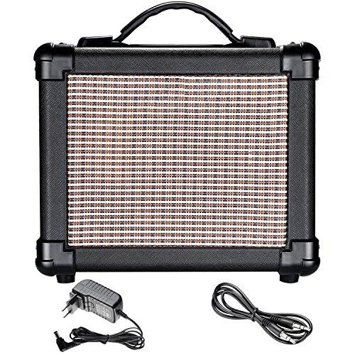 Neewer Gitarrenverstärker wiederaufladbar Vocal Amp 10-Watt mit tragbarem Griff für Akustikgitarre Praxis, Straße Aufführung, Karaoke, Band Aufführung und Outdoor Spiele (NW-10)