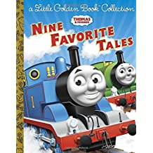 Thomas & Friends: Nine Favorite Tales (Thomas & Friends): A Little Golden Book Collection (Little Golden Book Collections)