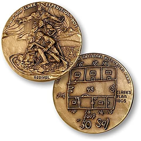 Acadia National Park Coin by Medallic Art