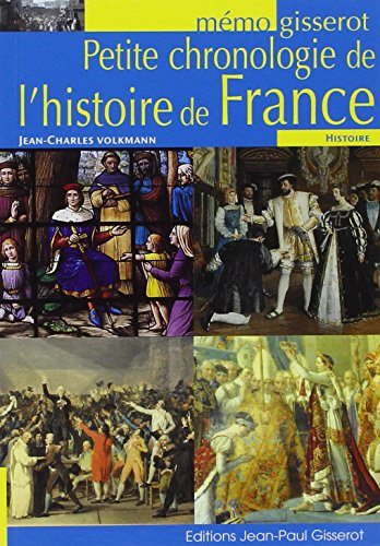 MEMO - Petite chronologie de l'histoire de France