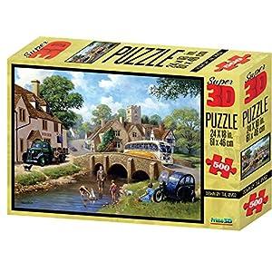 Kevin Walsh kw10035por el río Super 3D Puzzles (500Unidades)