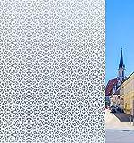 Concus-T Fensterfolie Selbstklebend UV Sonnenschutz Statisch Folie Blickdicht Sichtschutzfolie Ohne