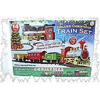 PMS Christmas Express - Juego de Trenes con batería (Sonido Realista y Luces, Talla única)