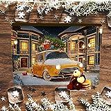 Image of Hallingers 24 Pralinen-Adventskalender, mit/ohne Alkohol (300g) - It's Christmas (Advents-Karton) - zu Weihnachten Adventskalender