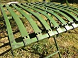 Green Garden Bistro set table & two chairs