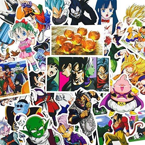 36 Pegatinas de Dragon Ball Zooku para Coche, portátil, monopatín, B