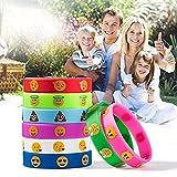 TOYMYTOY 32 Stück Kinder Armbänder Silikon für Kinder Geburtstag Party Geschenk Mitgebsel für TOYMYTOY 32 Stück Kinder Armbänder Silikon für Kinder Geburtstag Party Geschenk Mitgebsel