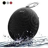 Haut-parleur Bluetooth Portable Sans Fils,iGOKU Wireless Enceinte(Waterproof et Antichoc)Micro Intégré et Basses Renforcées,Outdoor Speaker Bluetooth V4.1, Noir