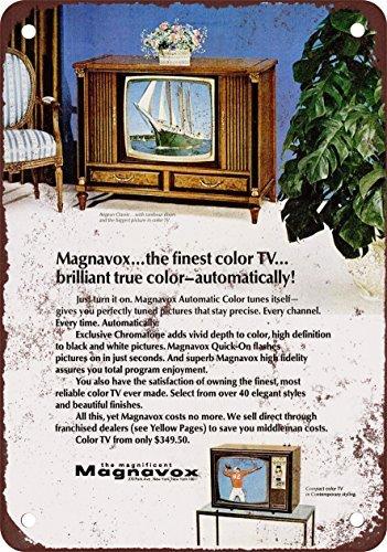 1978-magnavox-reproduccion-de-colores-con-televisores-aspecto-vintage-metal-tin-sign-7-x-10-pulgadas