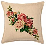 #5: Amayra Home Set of 5 Multi Colored Decorative Hand Made Cotton cushion covers 16