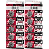 MAXELL CR2032 Coin Battery - Pack Of 10 Cell