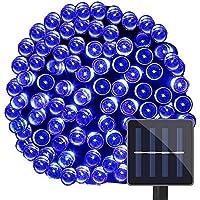 LE corda luminosa a LED 15m 100LEDs, 1.2 V blu pannello (Corda Solare)