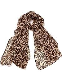 DonDon Damen Schal Sterne und weitere Schals mit Motiven