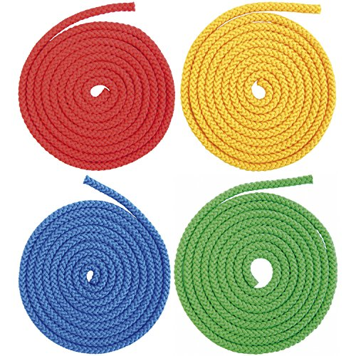 Eduplay 800434 - Uniseil, farbig sortiert 2,5 m - 6er Satz