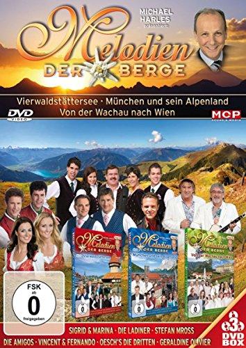 Bild von Melodien der Berge - Vierwaldstättersee, München und sein Alpenland, Von der Wachau nach Wien (3DVD-Set)