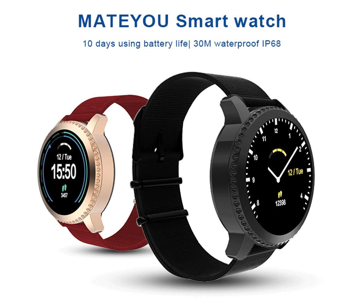 Smart Watch Bluetooth, Sport Smartwatch Fitness Tracker con TouchScreen Heart Rate Monitor, Activity Tracker Calorie… 8