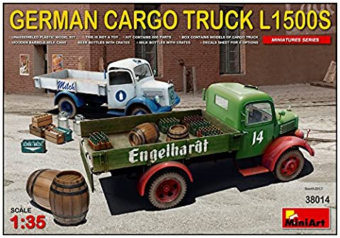 Miniart 1 : 35 - German Cargo Truck L1500s