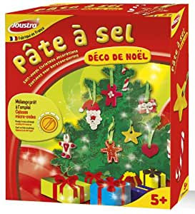 Joustra - 43004 - Kit de Loisir Créatif - Pâte à Sel - Déco de Noel