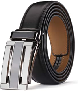 Men's Comfort Genuine Leather Ratchet Dress Belt 1 18