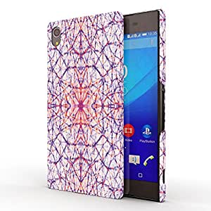 Koveru Designer Printed Protective Snap-On Durable Plastic Back Shell Case Cover for Sony Xperia Z4, Sony Xperia Z3 PLUS - Cells pattern
