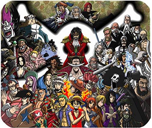 Mousepad One Piece Luffy Gadget Piratas Cartoons alfombrilla