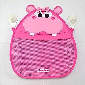 CHERABOO Henrietta Hippo Bath Toy Storage Organiser (Pink)