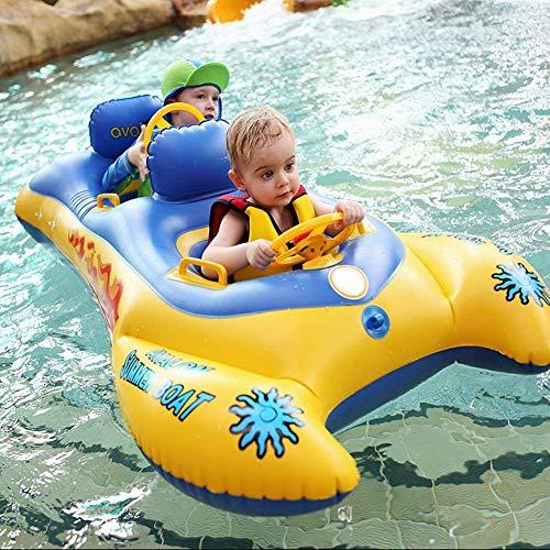 SLONG Kindersitz Baby Sicherheit Schwimmboot Markise