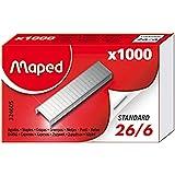 Maped M324605Agrafes 26/6, 1000Pièces dans boîte