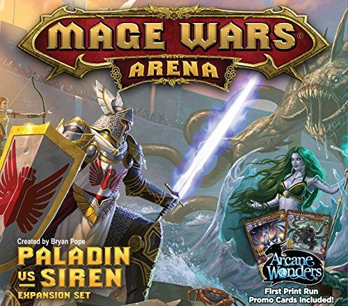 Preisvergleich Produktbild Arcane Wonders ARWWX3PS - Brettspiel Mage Wars Paladin vs. Siren Expansion