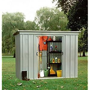 Yardmaster PZ Pent 6x4 Metal Garden Sheds