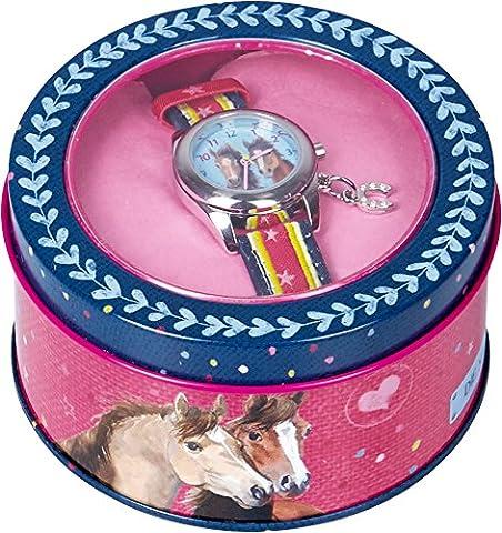 Spiegelburg 13575 Armbanduhr Pferdefreunde