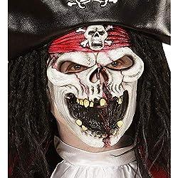 Máscara de pirata fantasma, infantil.