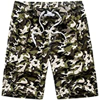 LITTHING Summer Style Board Shorts Men Quick Dry Outdoor Sports Camouflage Men Beach Shorts Shorts