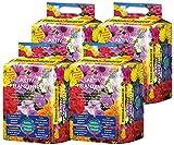Floragard Aktiv-Pflanzenerde 4x20 L • Premium-Blumenerde für Balkon- und Kübelpflanzen • zum Pflanzen und Topfen • 6-Monate-Langzeitdünger • mit dem Naturdünger Guano • 80 L