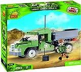 Pequeña luz del ejército Army Truck (150 Piezas)