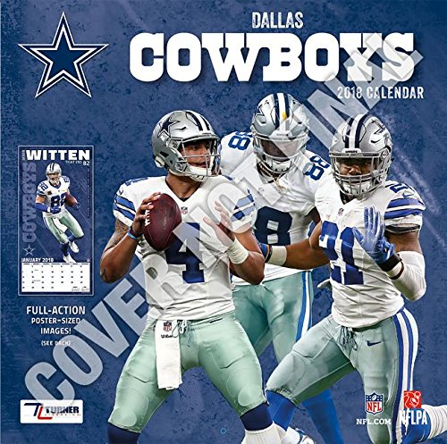 Dallas Cowboys 2019 12x12 Team Wall Calendar