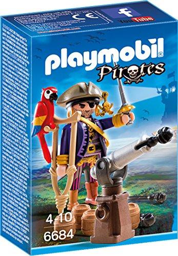 Preisvergleich Produktbild PLAYMOBIL 6684 - Piratenkapitän