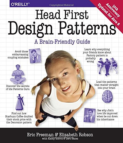 Head First Design Patterns (A Brain Friendly Guide)