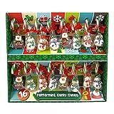 16 bastones de caramelo de menta con figuras de gelatina decoraciones para árboles de Navidad 352 g