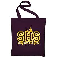 Styletex23 Sunnydale High School Buffy The Vampire Slayer Fan Jutebeutel Baumwolltasche