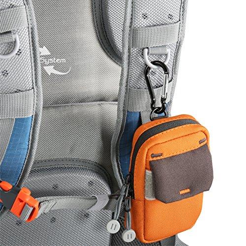 Vanguard SEDONA 41BL Zaino Fotografico e per Cannocchiale Leggero e Robusto, 25X19X43 cm, Blu
