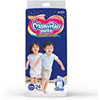 MamyPoko Pants Extra Absorb Diapers, XXX-Large (18 - 35 kg), 24 Count