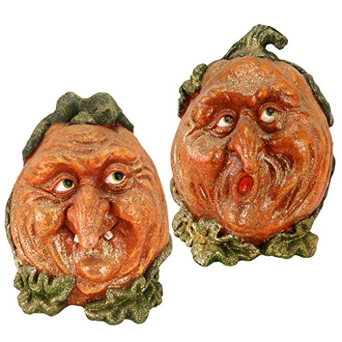 -Lantern Garden Statue: Set Two - Kürbis-Dekorationen - Halloween Prop (Kürbis-prop)